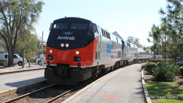 Amtrak at Winter Park, Fla.