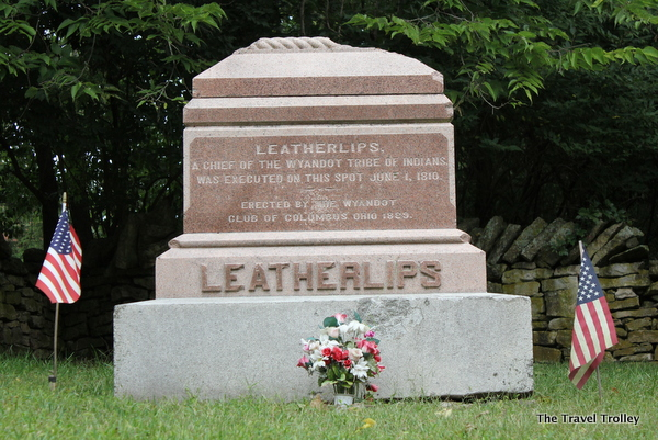 Chief Leatherlips Monument