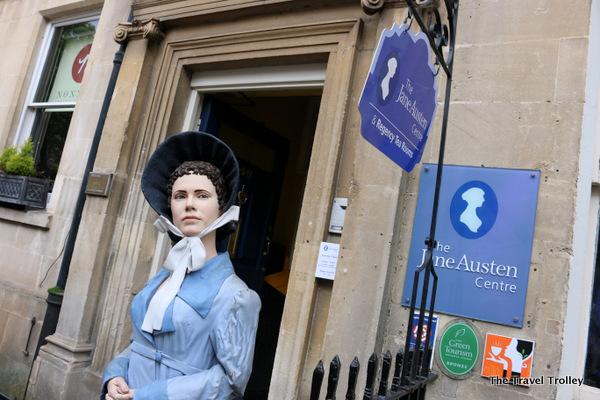 Jane Austen Centre (Photo by Todd DeFeo)