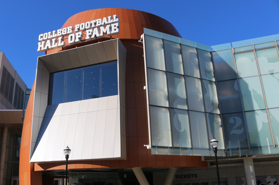 The College Football Hall of Fame and Chick-fil-A Fan Experience
